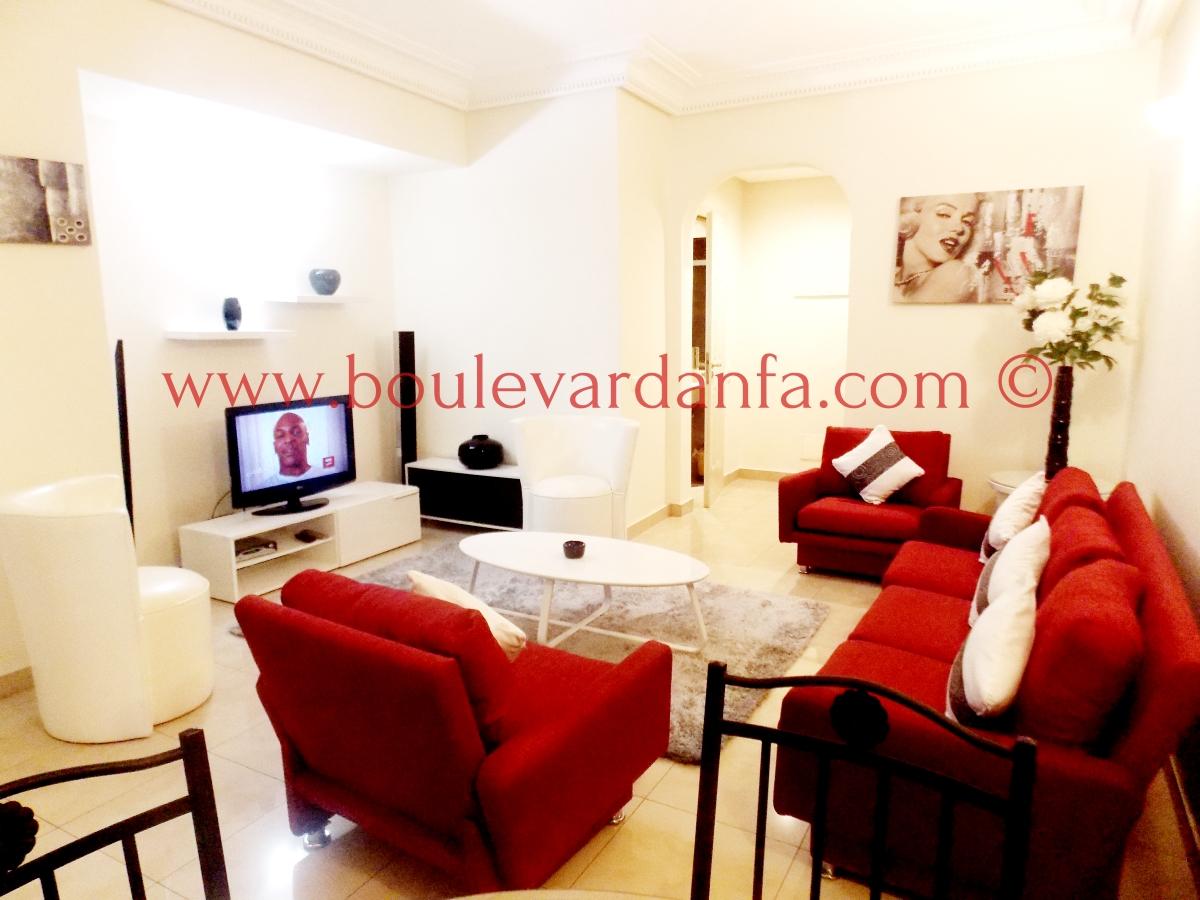 charmant appartement meubl de 75m louer gauthier. Black Bedroom Furniture Sets. Home Design Ideas